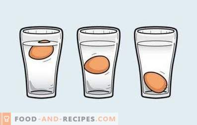 Cómo comprobar si un huevo está podrido o no