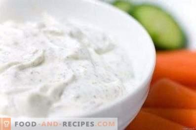 Salsa de pollo blanca