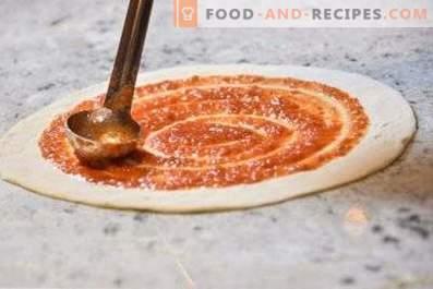 Salsa de tomate para pizza