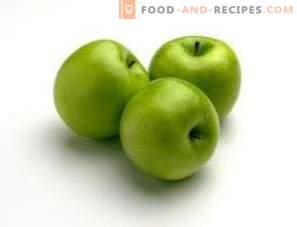 Calorías de manzana