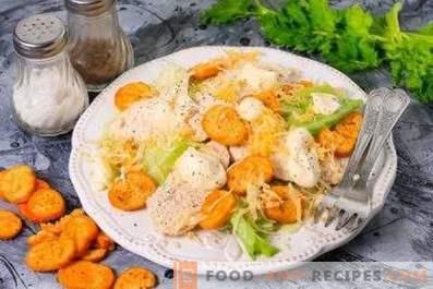 Cómo cocinar pollo para ensalada César