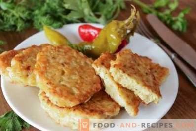 Tortitas de pescado