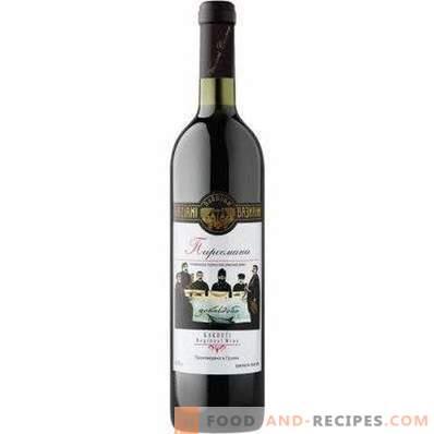 Con qué beber vino tinto semiseco