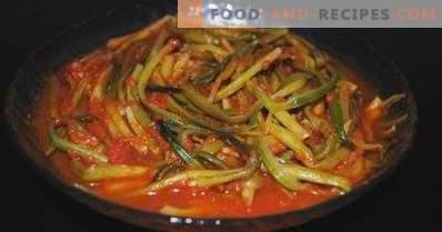 Ramson en Tomate