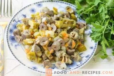 Chicken Heart Salad