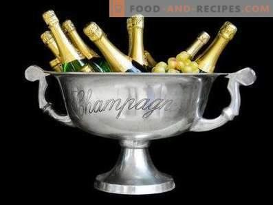 Cómo beber champán